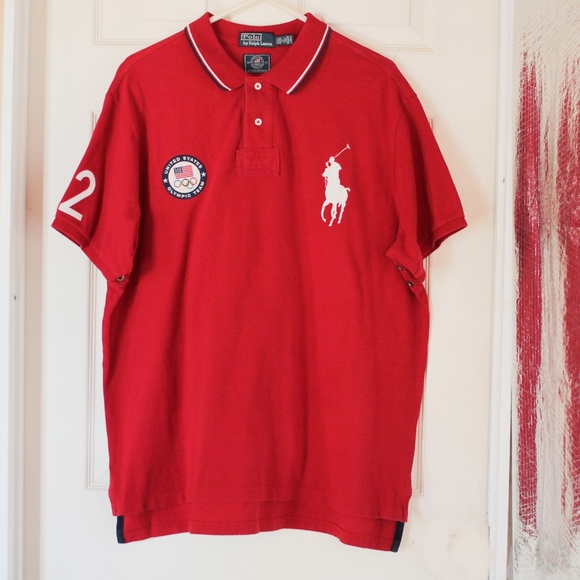 Polo By Red Lauren Olympics Xxl Ralph London H9IWED2